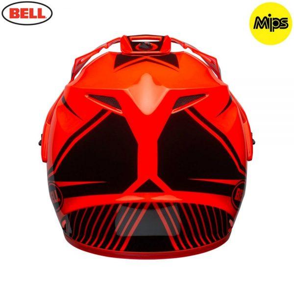 1548941386-45545500.jpg-Bell MX 2018 MX-9 Adventure Mips Adult Helmet (Torch Orange/Black)