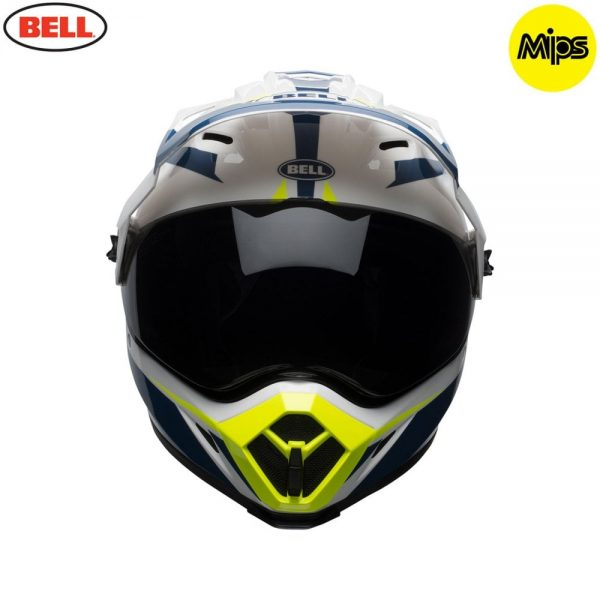 1548941394-77159300.jpg-Bell MX 2018 MX-9 Adventure Mips Adult Helmet (Torch White/Blue/Yellow)