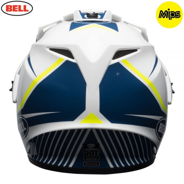 1548941406-34756000.jpg-Bell MX 2018 MX-9 Adventure Mips Adult Helmet (Torch White/Blue/Yellow)