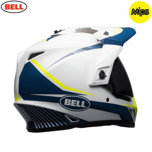 1548941408-76812200.jpg-Bell MX 2018 MX-9 Adventure Mips Adult Helmet (Torch White/Blue/Yellow)
