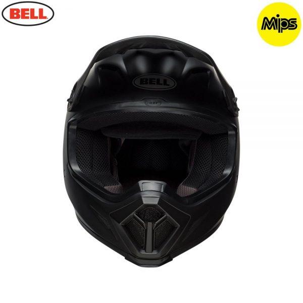 1548941536-01483800.jpg-Bell MX 2018 MX-9 Mips Adult Helmet (Solid Matte Black)