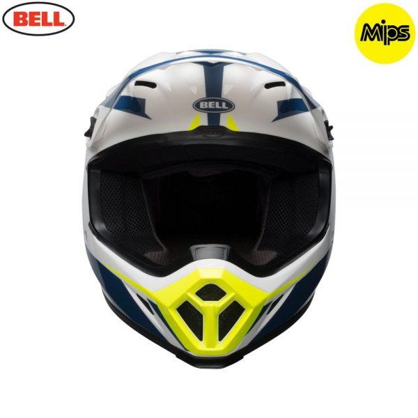 1548941550-41617300.jpg-Bell MX 2018 MX-9 Mips Adult Helmet (Torch White/Blue/Yellow)