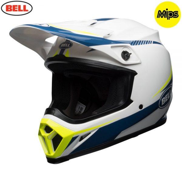 1548941552-09127300.jpg-Bell MX 2018 MX-9 Mips Adult Helmet (Torch White/Blue/Yellow)