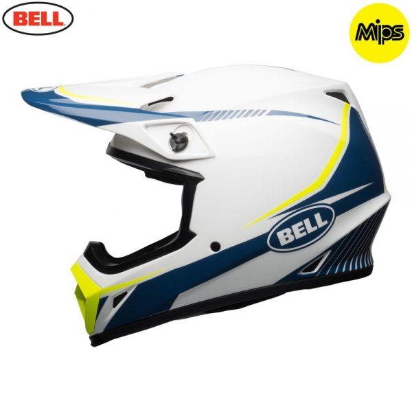 1548941553-97785000.jpg-Bell MX 2018 MX-9 Mips Adult Helmet (Torch White/Blue/Yellow)