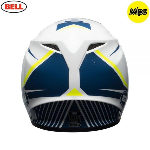 1548941558-22355500.jpg-Bell MX 2018 MX-9 Mips Adult Helmet (Torch White/Blue/Yellow)