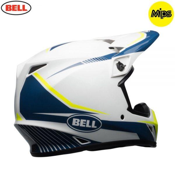 1548941560-09478900.jpg-Bell MX 2018 MX-9 Mips Adult Helmet (Torch White/Blue/Yellow)