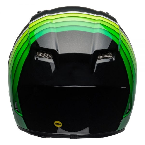 1548941582-60200200.jpg-Bell Street 2019 Qualifier DLX Mips Adult Helmet (Illusion Black/Green)