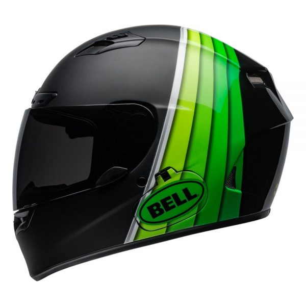 1548941586-44865100.jpg-Bell Street 2019 Qualifier DLX Mips Adult Helmet (Illusion Black/Green)