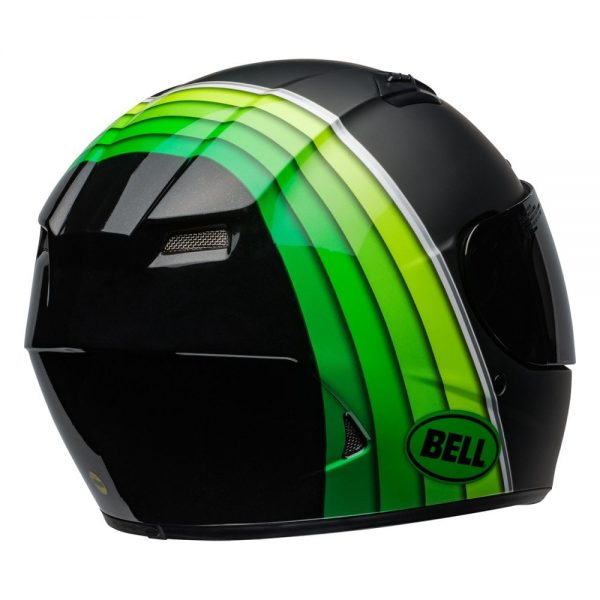 1548941592-15574000.jpg-Bell Street 2019 Qualifier DLX Mips Adult Helmet (Illusion Black/Green)