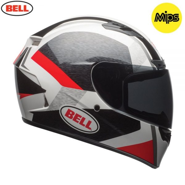 1548941679-04202400.jpg-Bell Street 2018 Qualifier DLX Mips Adult Helmet (Accelerator Red/Black)