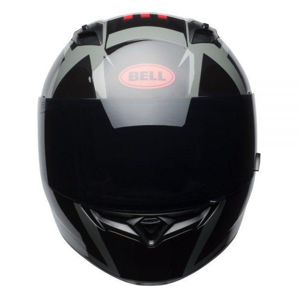 1548941688-69029300.jpg-Bell Street 2019 Qualifier STD Adult Helmet (Blaze Black/Red/Titanium)