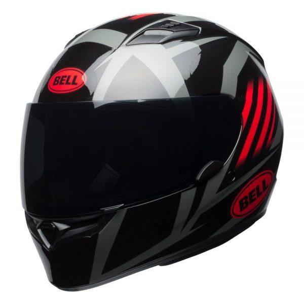 1548941694-56778100.jpg-Bell Street 2019 Qualifier STD Adult Helmet (Blaze Black/Red/Titanium)