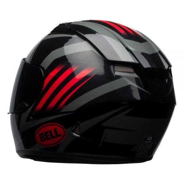 1548941696-26555800.jpg-Bell Street 2019 Qualifier STD Adult Helmet (Blaze Black/Red/Titanium)