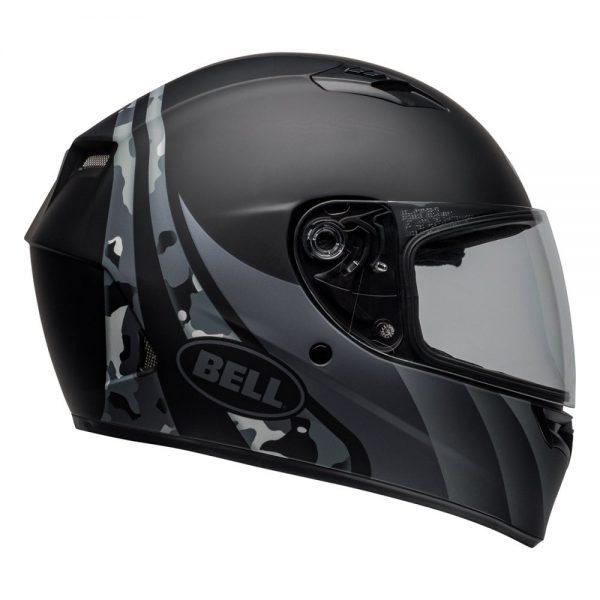 1548941715-15265900.jpg-Bell Street 2019 Qualifier STD Adult Helmet (Integrity Matte Camo Black/Grey)