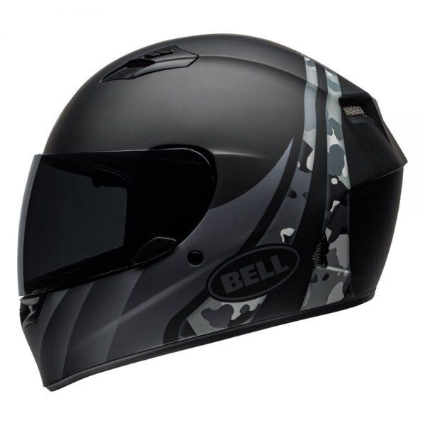 1548941722-29701500.jpg-Bell Street 2019 Qualifier STD Adult Helmet (Integrity Matte Camo Black/Grey)