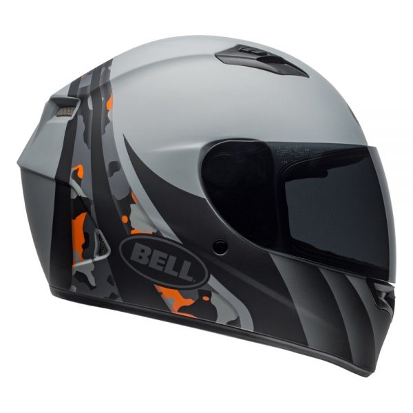 1548941729-31236800.jpg-Bell Street 2019 Qualifier STD Adult Helmet (Integrity Matte Camo Titanium/Orange)