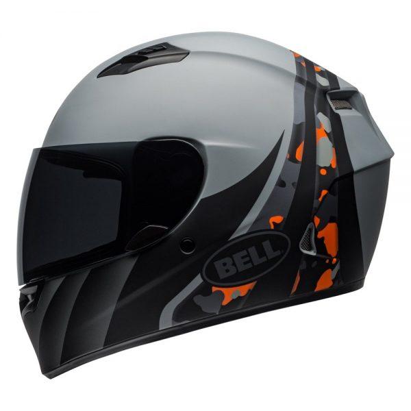 1548941735-23729100.jpg-Bell Street 2019 Qualifier STD Adult Helmet (Integrity Matte Camo Titanium/Orange)