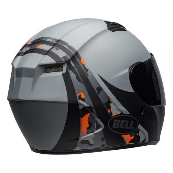 1548941741-05300900.jpg-Bell Street 2019 Qualifier STD Adult Helmet (Integrity Matte Camo Titanium/Orange)