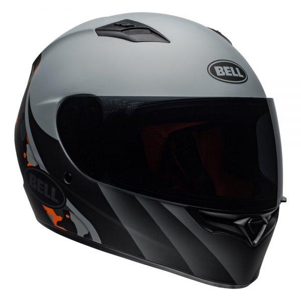 1548941742-81677500.jpg-Bell Street 2019 Qualifier STD Adult Helmet (Integrity Matte Camo Titanium/Orange)