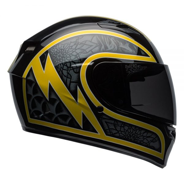 1548941744-93470000.jpg-Bell Street 2019 Qualifier STD Adult Helmet (Scorch Black/Gold Flake)