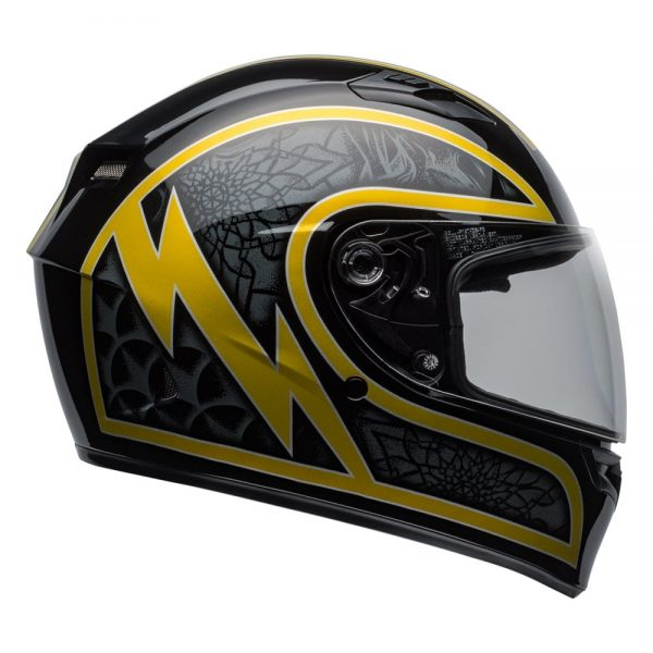 1548941747-48143500.jpg-Bell Street 2019 Qualifier STD Adult Helmet (Scorch Black/Gold Flake)