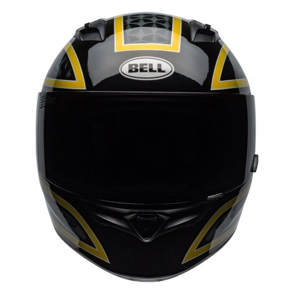 1548941751-70402600.jpg-Bell Street 2019 Qualifier STD Adult Helmet (Scorch Black/Gold Flake)