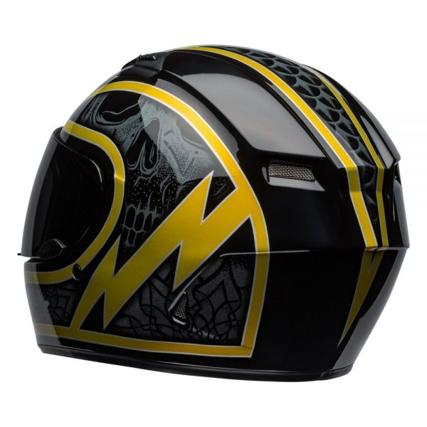 1548941755-41505400.jpg-Bell Street 2019 Qualifier STD Adult Helmet (Scorch Black/Gold Flake)