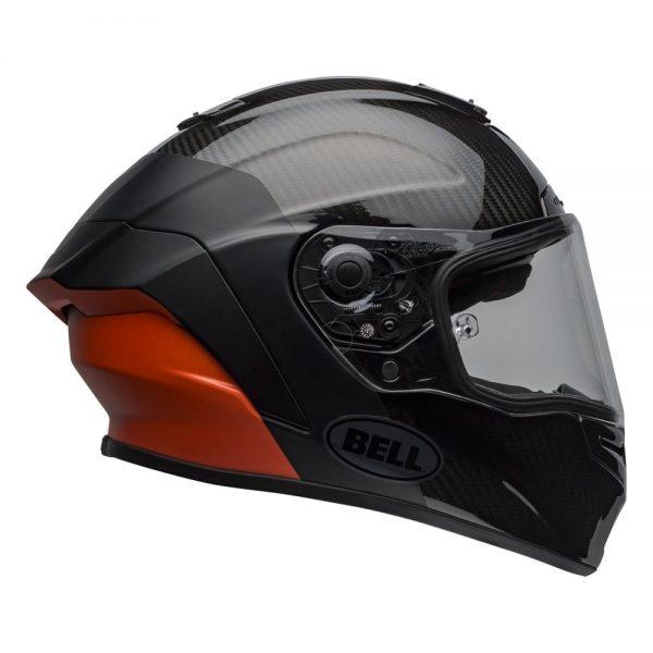 1548941800-52483800.jpg-Bell Street 2019 Race Star Adult Helmet (Lux Black/Orange)