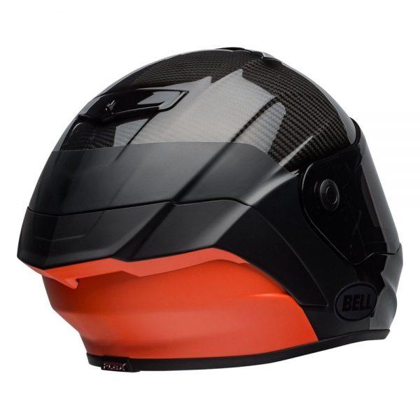 1548941807-61616400.jpg-Bell Street 2019 Race Star Adult Helmet (Lux Black/Orange)