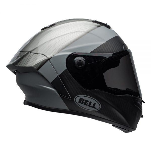 1548941813-22784500.jpg-Bell Street 2019 Race Star Adult Helmet (Surge Brushed Metal/Grey)