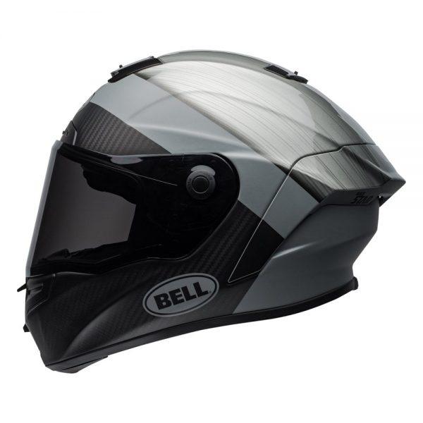 1548941817-12069700.jpg-Bell Street 2019 Race Star Adult Helmet (Surge Brushed Metal/Grey)
