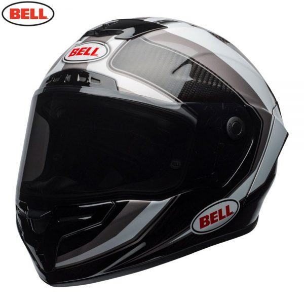 1548941880-54513500.jpg-Bell Street 2018 Race Star Adult Helmet (Sector White/Titanium)
