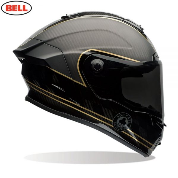 1548941893-28477100.jpg-Bell Street 2018 Race Star Adult Helmet (Speed Check Matte Black/Gold)
