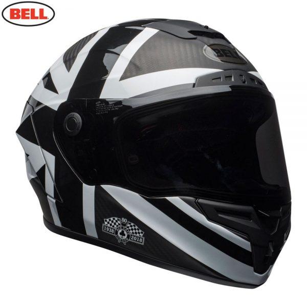 1548941897-65139900.jpg-Bell Street 2018.1 Race Star Adult Helmet (Ace Cafe Black Jack Black/White)