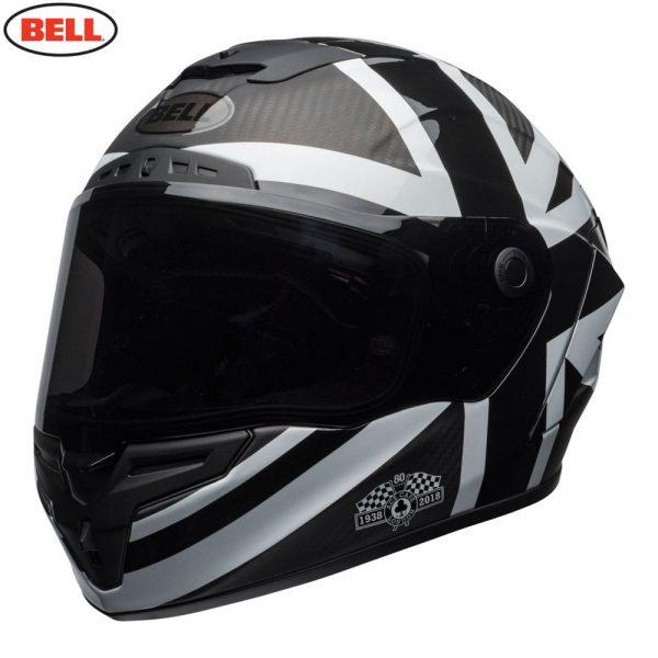 1548941902-57272100.jpg-Bell Street 2018.1 Race Star Adult Helmet (Ace Cafe Black Jack Black/White)
