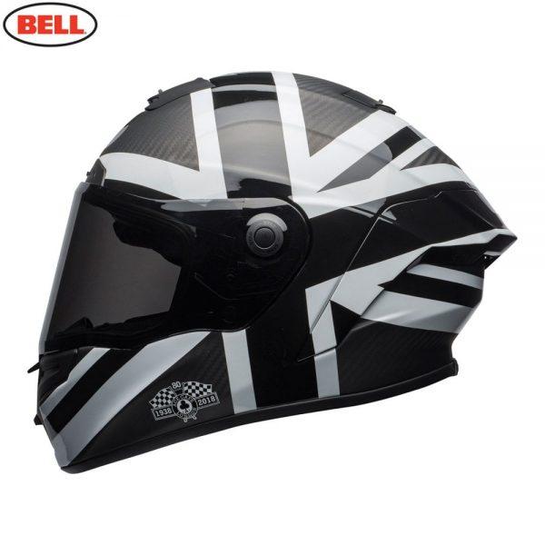 1548941904-93560800.jpg-Bell Street 2018.1 Race Star Adult Helmet (Ace Cafe Black Jack Black/White)