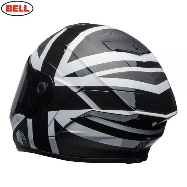 1548941907-04358400.jpg-Bell Street 2018.1 Race Star Adult Helmet (Ace Cafe Black Jack Black/White)