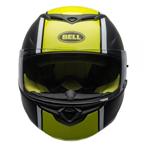 1548941936-63693700.jpg-Bell Street 2019 RS2 Adult Helmet (Rally Black/White/Hi-Viz Yellow)