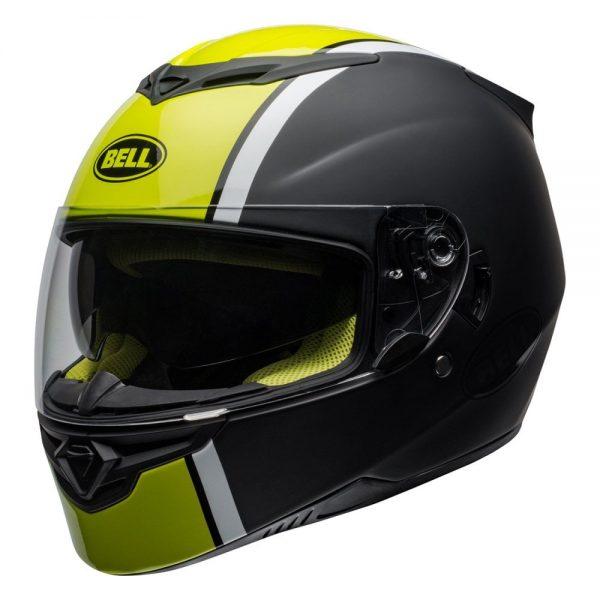 1548941943-63950200.jpg-Bell Street 2019 RS2 Adult Helmet (Rally Black/White/Hi-Viz Yellow)