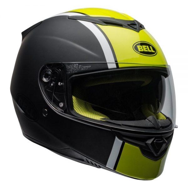 1548941948-43551900.jpg-Bell Street 2019 RS2 Adult Helmet (Rally Black/White/Hi-Viz Yellow)