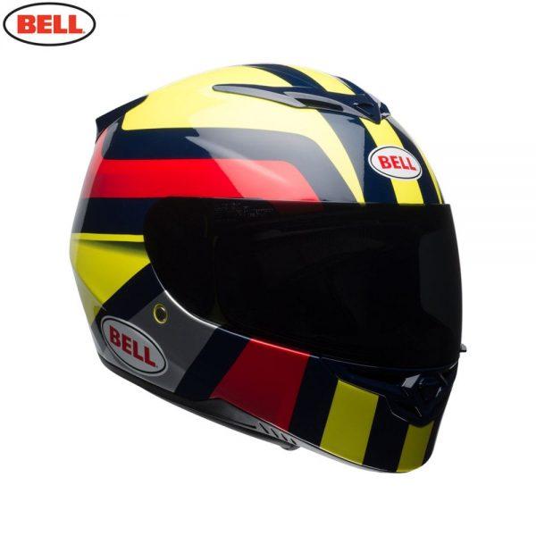 1548941987-46507000.jpg-Bell Street 2018 RS2 Adult Helmet (Empire Yellow/Navy/Red)