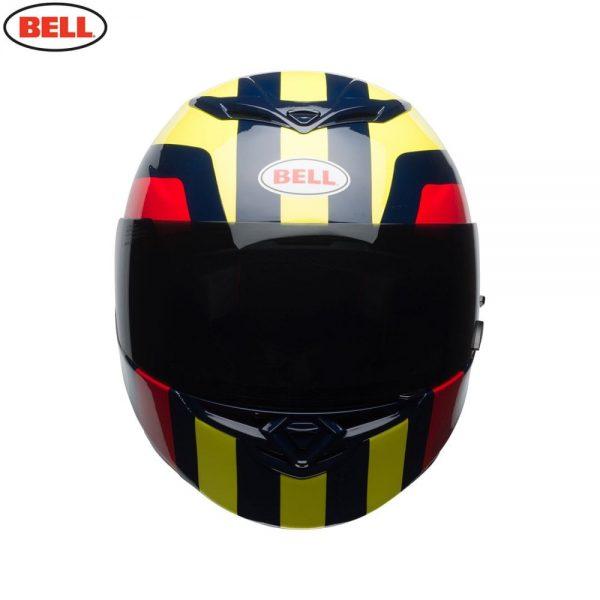 1548941989-89853500.jpg-Bell Street 2018 RS2 Adult Helmet (Empire Yellow/Navy/Red)