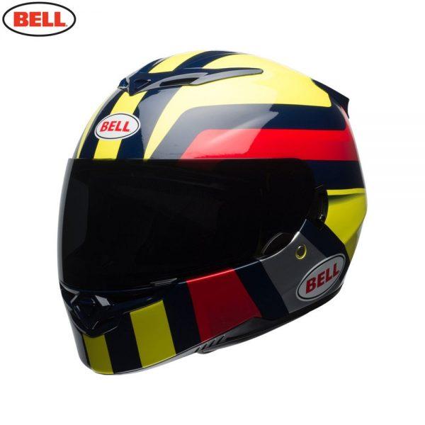 1548941992-26084700.jpg-Bell Street 2018 RS2 Adult Helmet (Empire Yellow/Navy/Red)