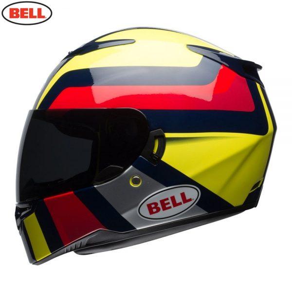 1548941994-66341900.jpg-Bell Street 2018 RS2 Adult Helmet (Empire Yellow/Navy/Red)