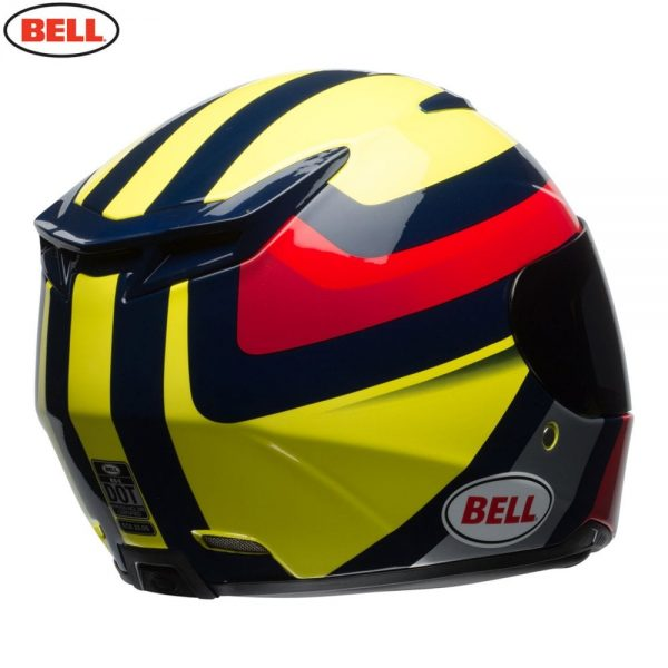 1548941999-91711300.jpg-Bell Street 2018 RS2 Adult Helmet (Empire Yellow/Navy/Red)