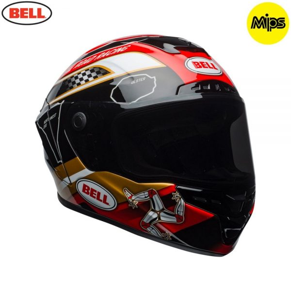 1548942115-02284600.jpg-Bell Street 2018 Star Mips Adult Helmet (Isle Of Man Pace Black/Gold)