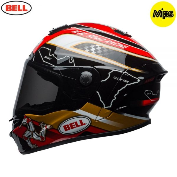 1548942120-23666200.jpg-Bell Street 2018 Star Mips Adult Helmet (Isle Of Man Pace Black/Gold)