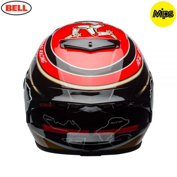 1548942125-14014900.jpg-Bell Street 2018 Star Mips Adult Helmet (Isle Of Man Pace Black/Gold)