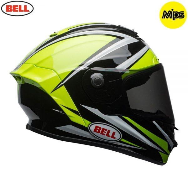 1548942147-09666400.jpg-Bell Street 2018 Star Mips Adult Helmet (Torsion Hi-Viz Green/Black)