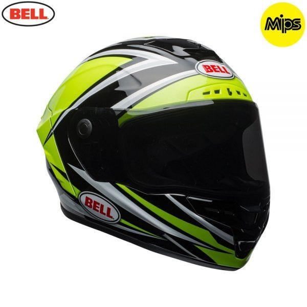 1548942149-18461400.jpg-Bell Street 2018 Star Mips Adult Helmet (Torsion Hi-Viz Green/Black)